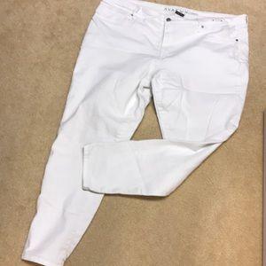 Denim - Ava & Viv White Skinny Jeans